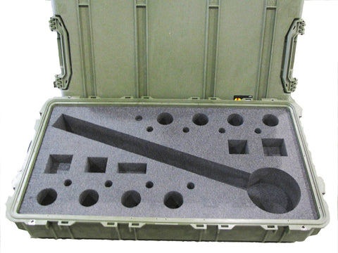 Replacement, Transport Case for Drop-Fired Mortar Sim, 81mm (Green)