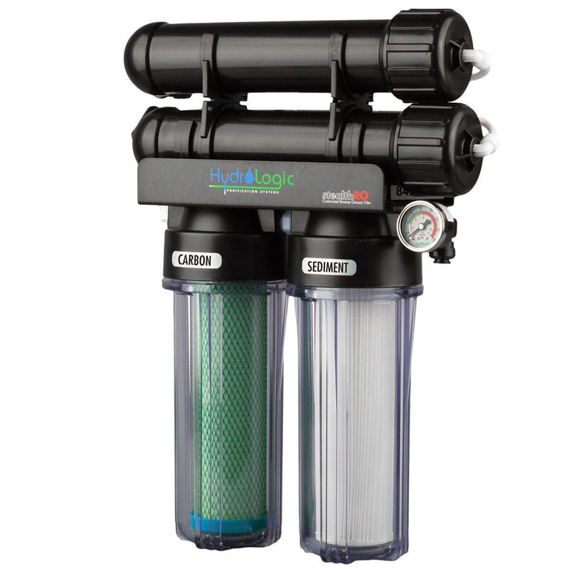 HydroLogic StealthRO300 W / Carbon Filter - GrowDudes