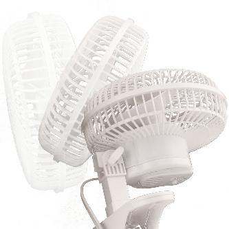 Hurricane® Classic Clip Fan - 6 in - GrowDudes