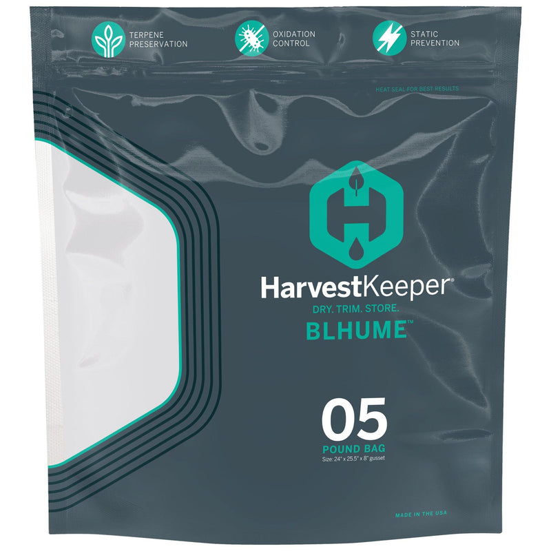 Harvest Keeper™ Blhume Bag 5lb (50bags/box) - GrowDudes