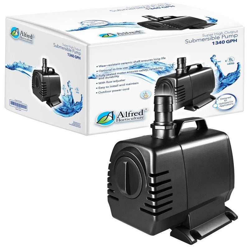 Alfred Water Pump 1340GPH - GrowDudes