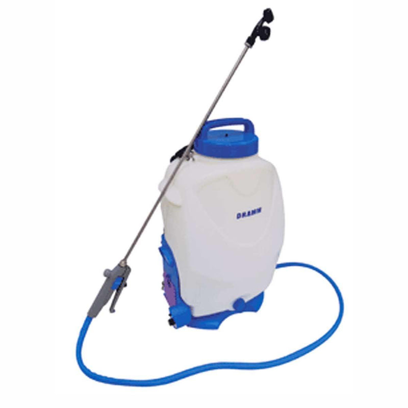 Dramm BackPack Sprayer 4 Gal Rechargeable Battery 150psi - GrowDudes