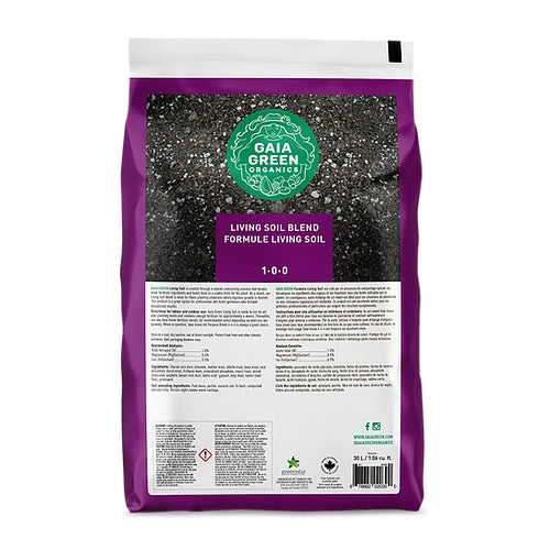 Gaia Green Living Soil (30L)