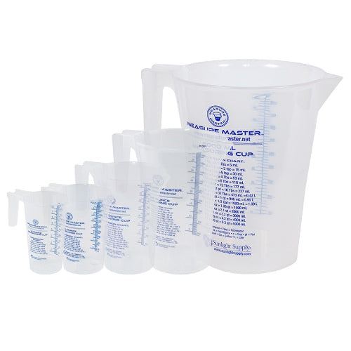 Measure Master® Graduated Round Containers