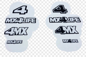 Stickers 4 Pack