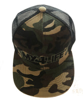 MX4LIFE CAMO HAT Snapback adjustment fits youth & Adult