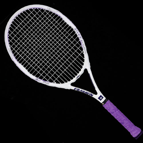 Professional Carbon Fiber Tennis Racket 50-55LBS For Adult With Bag Strings Tennis Racket Racquet