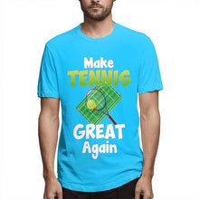 Load image into Gallery viewer, Men's Fashion Again Make Tennis Great Tennis Sports Playing Tee Shirt