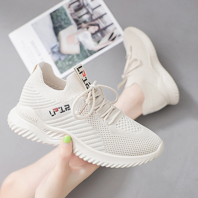 Hot Sale Women Tennis Shoes Chunky Height Increasing Thick Bottom Sneakers Gym Female Sport Walking Trainers Tenis Feminino
