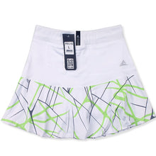 Load image into Gallery viewer, Women's Sports Tennis Skort Short Badminton Skirt with Safety Shorts Striped Tennis Skirt