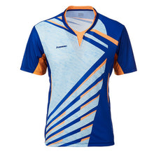 Load image into Gallery viewer, Tennis Shirts Men T-shirt V Neck Short Sleeves Tennis T Shirt For Male Team Sports Sportswear ST-T1013