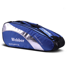 Load image into Gallery viewer, Large Designer Tennis Bag Backpack Rackets Bags for Professional Sport Competition