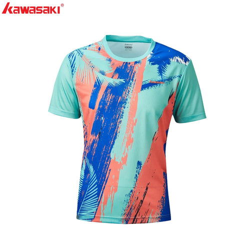 Men's T-Shirt Shirt Sleeve Quick Dry Fabric Shirt for Badminton Table Tennis Running Gym Fitness Sports ST-R1242