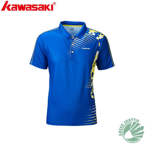 Genuine Kawasaki New Badminton Shirt For Men And Women Breathable Badminton T-Shirt Sportswear Quick-drying ST-R1202 ST-R1208