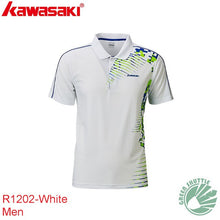 Load image into Gallery viewer, Genuine Kawasaki New Badminton Shirt For Men And Women Breathable Badminton T-Shirt Sportswear Quick-drying ST-R1202 ST-R1208