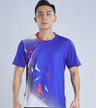 Load image into Gallery viewer, New 2021 Badminton shirt Men/Women , sports tennis t-shirt clothes, Table Tennis shirts ,Quick dry Tennis wear  shirt M-4XL 235
