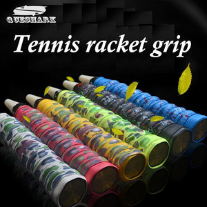 1 pcs Camouflage Anti-slip Racket Over Grips Tennis Badminton Racket Sports Squash Tape Non-slip Fishing Rods Grips
