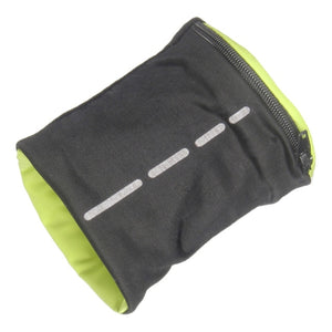 Tennis Wrist Band With Zipper Pocket