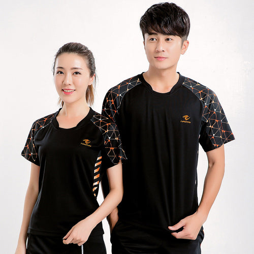 Men And Women Tennis Shirts