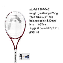 Load image into Gallery viewer, High Quality Tennis Racket