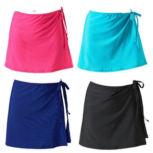 High Waist A-line Mini Tennis Skirt