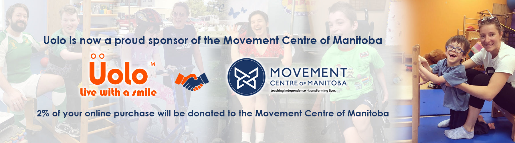 Proudly partnered with the Movement Centre of Manitoba!