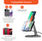 Uolo Volt 15W Fast Wireless Charging Stand with QC 3.0 Wall Charger