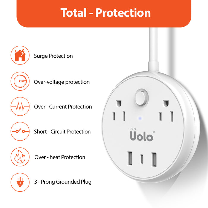 Uolo Volt 45W PD Power Hub