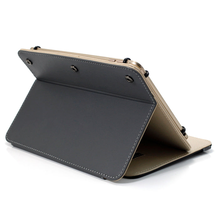 Uolo TabFolio, Universal Folio Case for 9.7in - 11in Tablet, Black