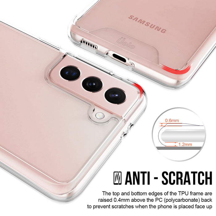 Uolo Soul+ Clear Protective Case for Samsung Galaxy S21