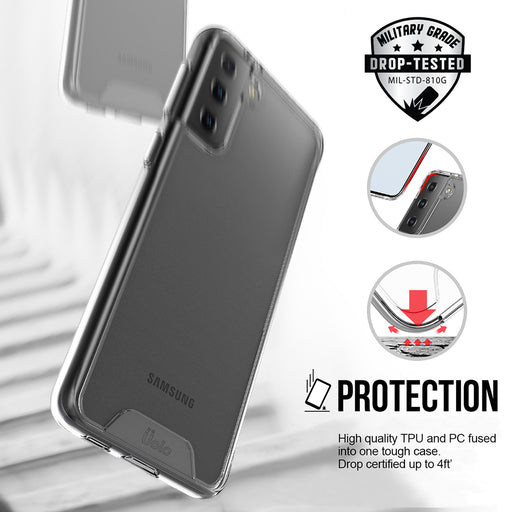 Uolo Soul+ Clear Protective Case for Samsung Galaxy S21+