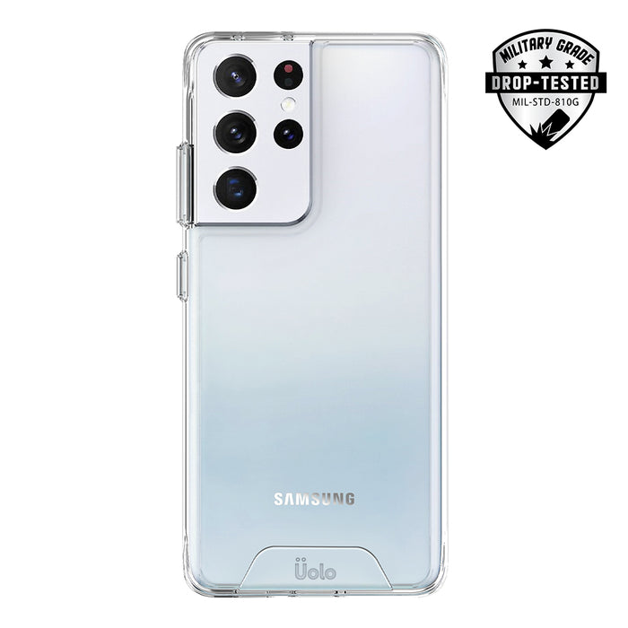 Uolo Soul+ Clear Protective Case for Samsung Galaxy S21 Ultra