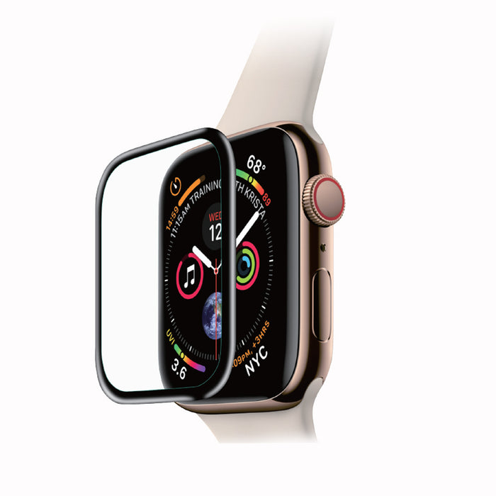 Uolo Shield 3D Glass (Full Adhesive), Apple Watch Series 6/SE/5/4 40mm