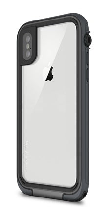 Uolo Adventure Waterproof Case, iPhone X, Grey/Black