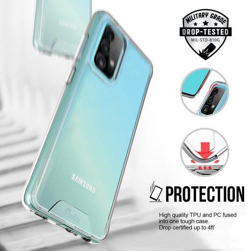 Uolo Soul+ Clear Protective Case for Samsung Galaxy A52 5G