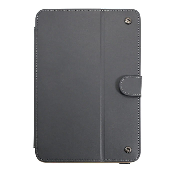 Uolo TabFolio, Universal Folio Case for 7in - 8in Tablet, Black/Grey