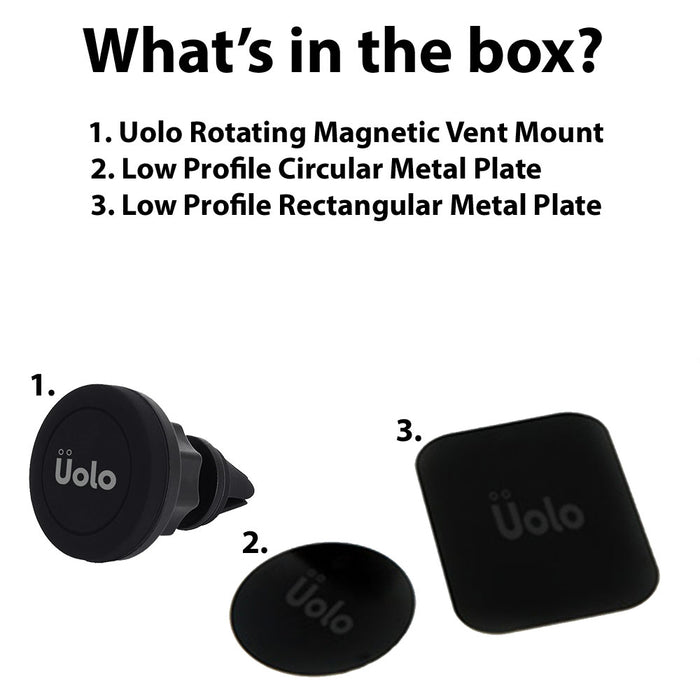 Uolo Mount Handsfree Rotation Magnet