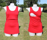 Woman's Merino Breastfeeding Singlet