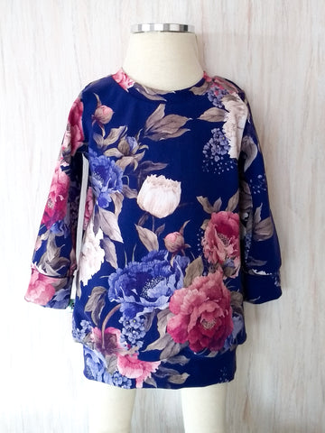 Grow With Me Floral Tunic * Sz M 3-12m
