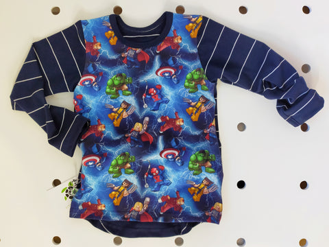 RTS Size 4 **  Super Hero Top