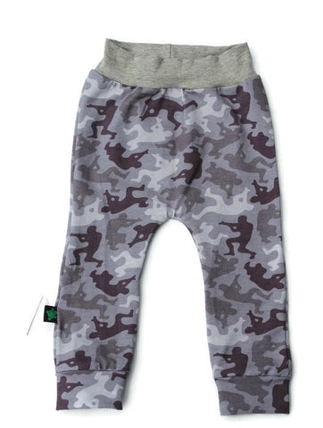 SALE Size 1 Grey Camo Army Men Joggers
