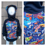 Kids **Scuba Hoodie with POCKETS!