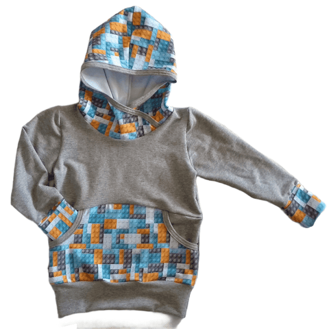 Grow With Me Hoodie ** Lego * Sz XL 3-6 yrs