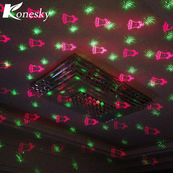 LED Laser Stage Lamp IP65 Waterproof Adjustable Dynamic Projector Effect light Disco Club DJ Indoor Outdoor Christmas Decoration