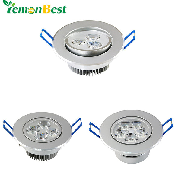 Dimmable 3W 4W 5W Ceiling downlight LED lamp Recessed Cabinet wall Bulb AC110V/220V for Home Living Room Illumination 10pcs/lot