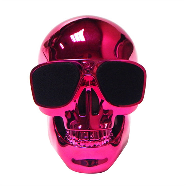 Skull Skeleton Speaker Ultra Portable Wired Bluetooth Speaker for Desktop PC Laptop Notebook Mobile Phone MP3 MP4 Player 5W