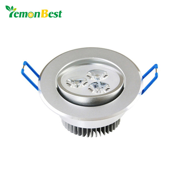 9W 220V LED Celing Lamp Down Light Dimmable Cool White Warm White LED Ceiling Downlight For Home Living Bed Room illumination