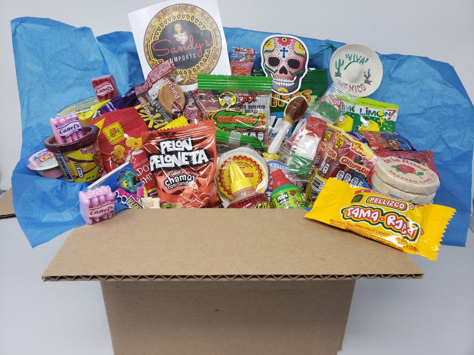 Sandy's Traditional Mexican Candy Box