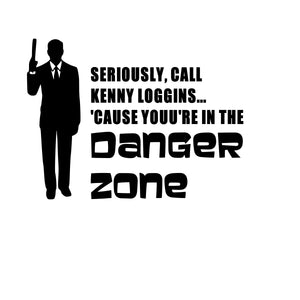 Archer | Call Kenny Loggins, Danger Zone Digital DXF | PNG | SVG Files!