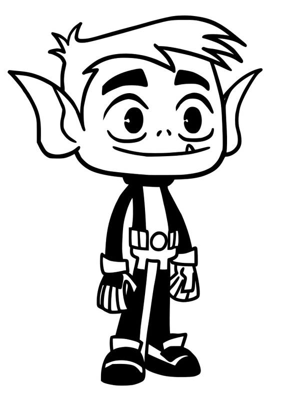 Teen Titans Inspired | Beast Boy  Digital DXF | PNG | SVG Files!